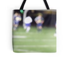 Life is a Blur #1 soccer Tote Bag