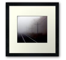 get me outta here... Framed Print