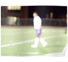 Life is a Blur #2 soccer Poster