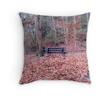 Facing Nature Throw Pillow