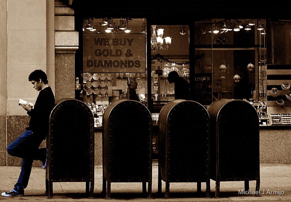 We Buy Gold & Diamonds by Michael J Armijo