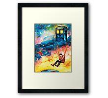 Watchful Doctor Framed Print