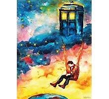 Watchful Doctor Photographic Print