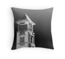 The Clocktower  Throw Pillow