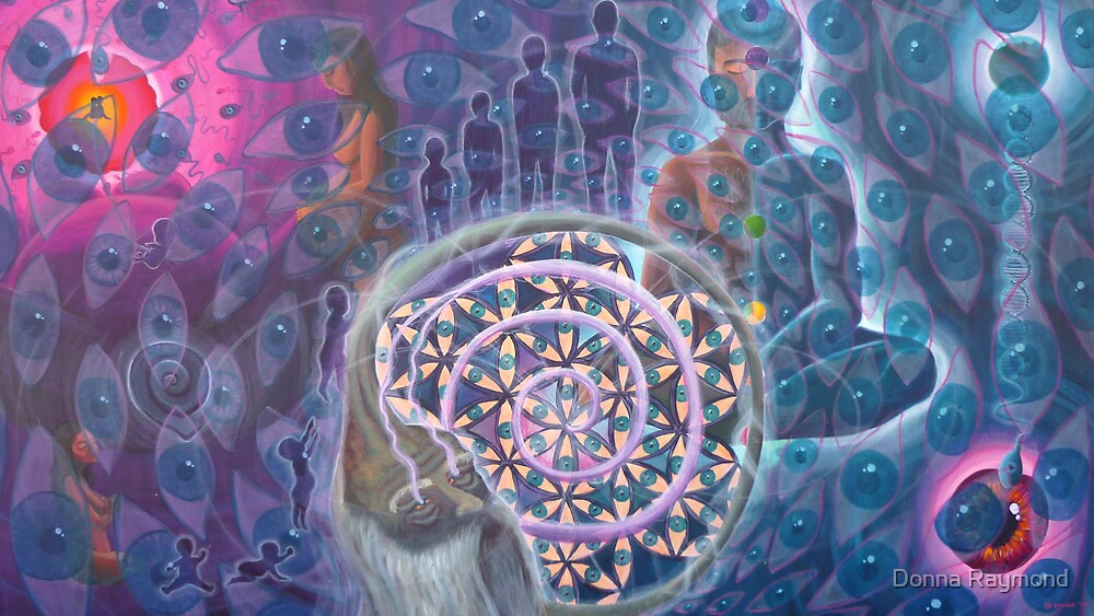 """From Conception to Conception- Journey of the Infinite soul""- 09* *ORIGINAL AVAILABLE** by Donna Raymond"