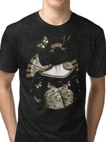 Geisha Girl antique Tri-blend T-Shirt