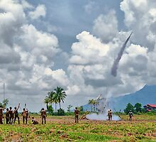 Bun Bang Fai (the rocket festival) - Ban Pappin Village, Champassack, Laos by AsiaArchaeology