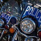 Police Bikes by Rick  Bender