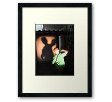 Shadow Games Framed Print