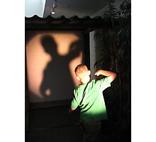 Shadow Games Photographic Print