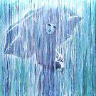 Jour de pluie - Printemps by Sophie-Berger