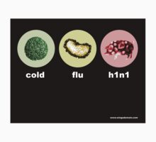 h1n1 swine flu by Wing Tong