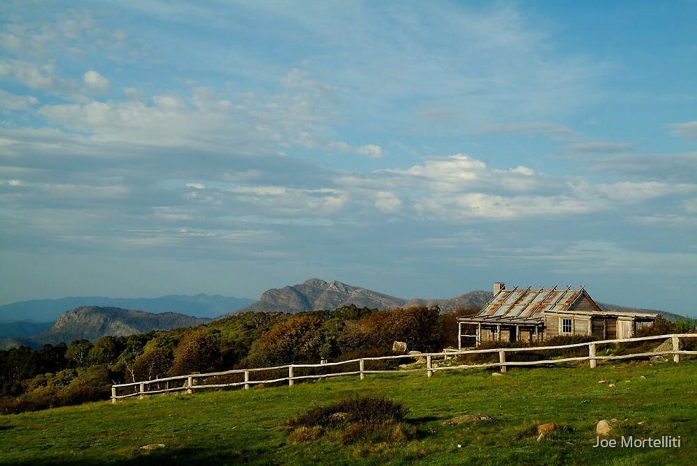 Craigs Hut, Mt Stirling by Joe Mortelliti