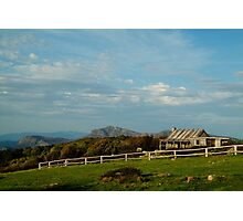 Craigs Hut, Mt Stirling Photographic Print