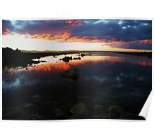 low head sunset tasmania Poster