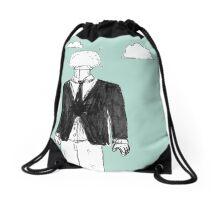 Head Explosion Drawstring Bag
