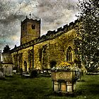 St. Mary's Church at Kirkby Lonsdale. by Sue Smith