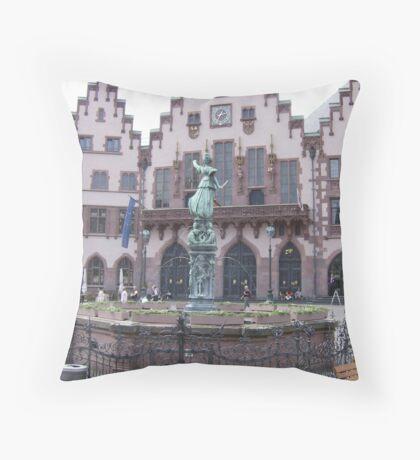 Frankfurt Throw Pillow