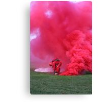 Army men falling from the sky  Canvas Print