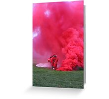 Army men falling from the sky  Greeting Card