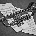 B&W Trumpet by Mitch Pascoe