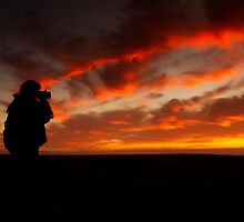 Sunset Photographer by Pene Stevens