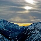 The Valley at Dusk - A Chamonix Special by Lucas Lovell
