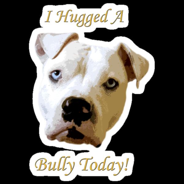 I Hugged A Bully Today! by Zdogs