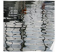 Waterfront Reflections Poster