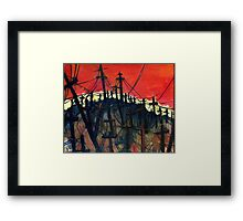 Won't Amount To A Hill Of Beans Framed Print