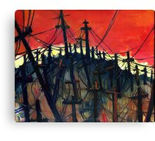 Won't Amount To A Hill Of Beans Canvas Print