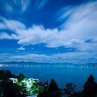 Moonlit River Derwent - Tasmania, Australia by Liam Byrne