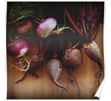 Beets and Turnips Poster
