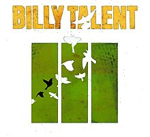 Billy Talent Any Color Backgrounds Photographic Print