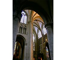 Cathedral Ceiling in Gent Belgium Photographic Print