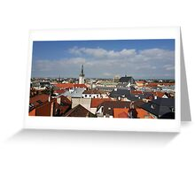 Historic Old Town of Olomouc, Czech Republic Greeting Card