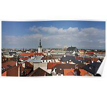 Historic Old Town of Olomouc, Czech Republic Poster
