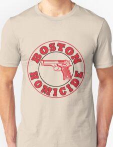 Rizzles Boston Homicide Logo T-Shirt