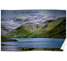 wasdale mountains Poster