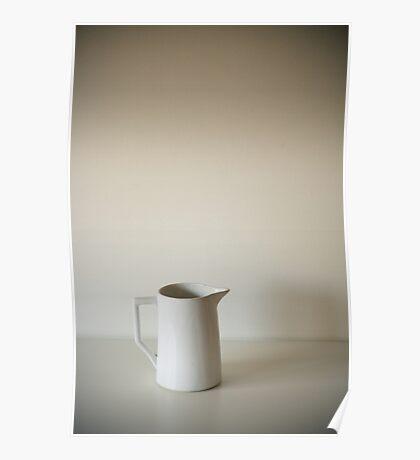 milk. a still life. Poster