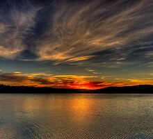 Angels Wings - Narrabeen Lakes,Sydney - The HDR Experience by Philip Johnson