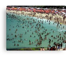 Ipanema Beach Canvas Print