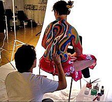 Sensory Bodypainting Atelier by Luis Daniel Maldonado Fonken