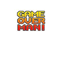 GAME OVER MAN! Photographic Print