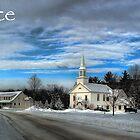 Hebron Common Winter, Peace by Wayne King