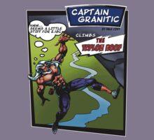 Capt Granitic Comic Panel 02 Kids Clothes