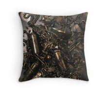 Space junk Throw Pillow