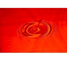 Drip, Drip, Splash Photographic Print