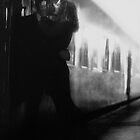 Train Kiss by Chris Fawkes