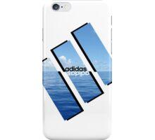 adidas mirror water  iPhone Case/Skin